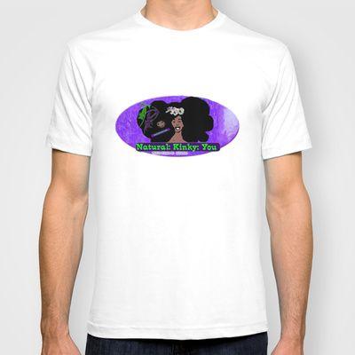 Toxic Plum-Natural:Kinky:You T-shirt by ErisDeimos - $22.00
