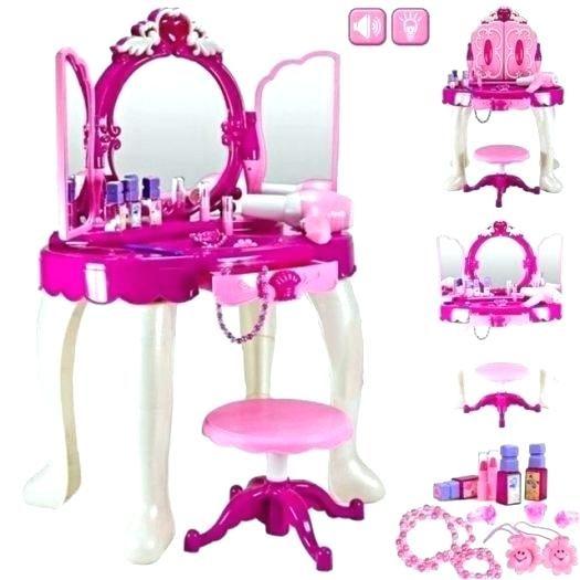 Girls Vanity Table And Stool Girls Vanity Mirror Photo 2 Of 6 New Girls Pink Dressing Table Dressing Table Vanity Mirror Dressing Table With Stool Kids Vanity