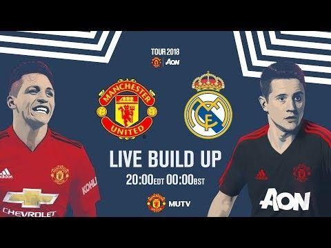 En Vivo Livestream Manchester United V Real Madrid Manchester United The Unit Live Streaming