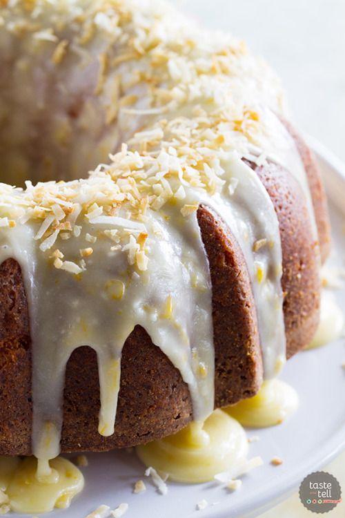 COCONUT ORANGE POUND CAKEReally nice recipes. Every hour.Show me  Mein Blog: Alles rund um die Themen Genuss & Geschmack  Kochen Backen Braten Vorspeisen Hauptgerichte und Desserts # Hashtag