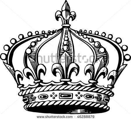Gallery For gt Royal Crown Outline