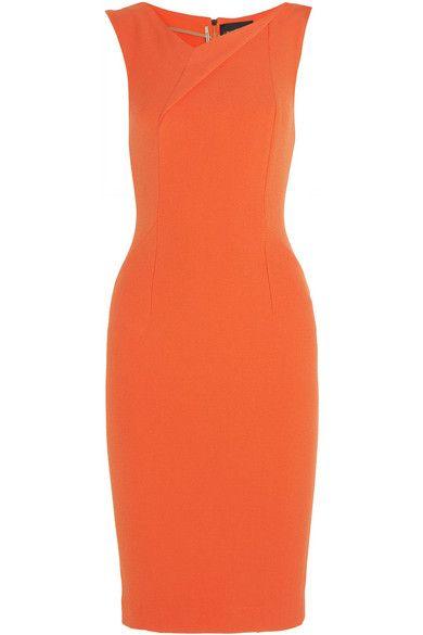 Roland Mouret | Grainger stretch-crepe dress | NET-A-PORTER.COM