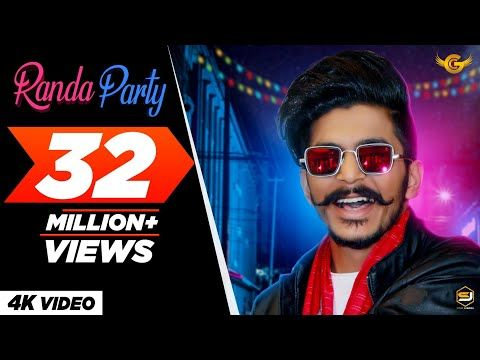 Gulzaar Chhaniwala Randa Party Official Video Latest Haryanvi Song 2020 Youtube In 2020 Ringtone Download Songs Mp3 Song