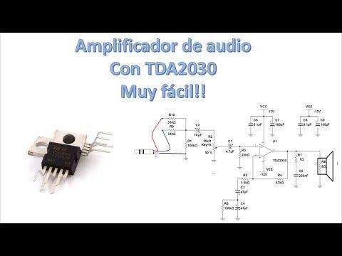 Como hacer un Amplificador de audio estéreo casero (Muy fácil ...