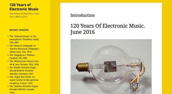 120 Jaar Elektronische Muziek en de Ondes Martenot - more images and music on http://on.dailym.net/1WSTNoW #120-Jaar-Elektronische-Muziek, #Audio-Log, #Claude-Debussy, #Hans-Jacobi, #Jean-Laurendeau, #Maurice-Martenot, #Ondes-Martenot, #Simon-Crab, #Virtueel-Instrument