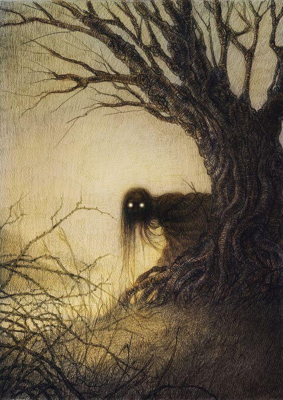 Banshee by Jana Heidersdorf. Delightfully creepy!