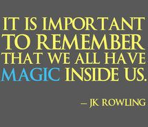 Inspiring picture harry potter, jk rowling, quotes, text.