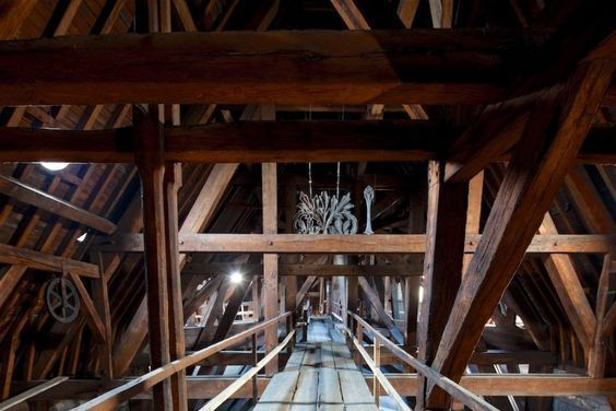 The Wooden Attic Of The Notre Dame Cathedral Called The Forest Was Destroyed In The Fire This Cathédrale Notre Dame De Paris De Paris Cathédrale Notre Dame