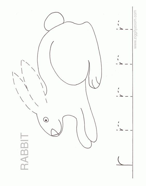 ZZ Alphabet Worksheet - Letter r   Alphabet, Preschool alphabet ...