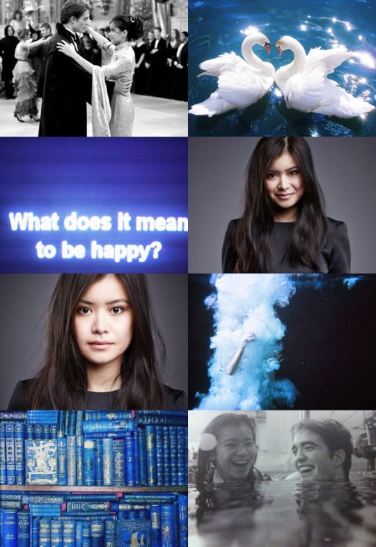hp aesthetic: cho chang      i thought, i thought you'd u-u-understand! i need to talk about it!