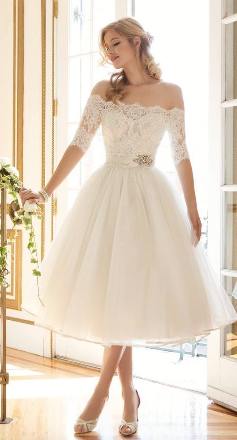 Wedding Dress Inspiration Vestidos De Novia Cortos