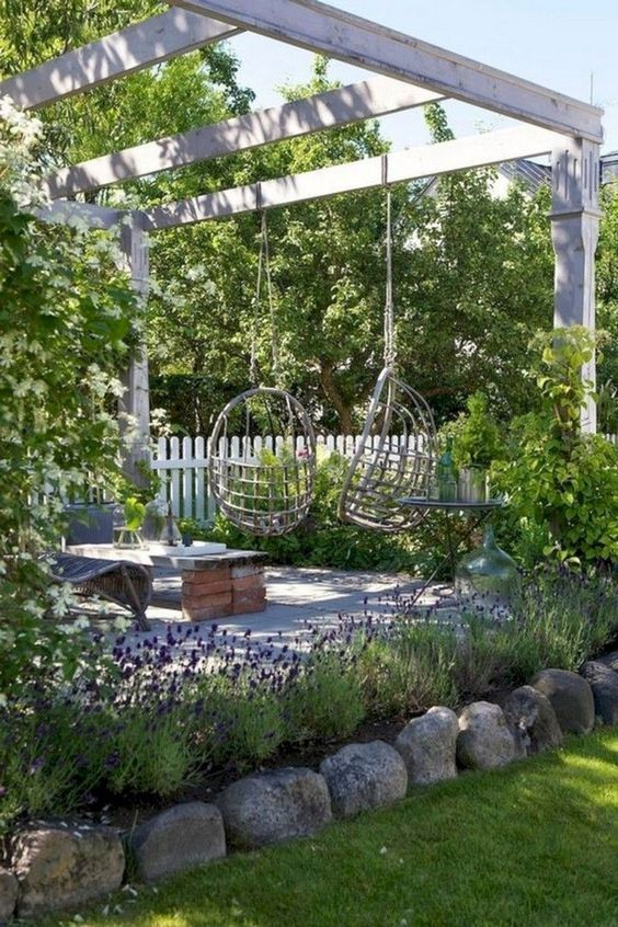 42 Amazing Ideas With Natural Pergolas In The Garden And How To