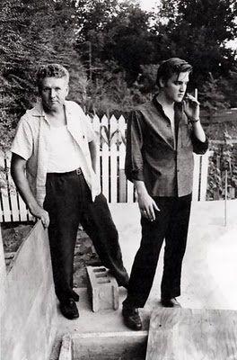 Elvis et son père