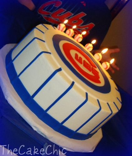 354 · 354. Chicago Cubs cake.
