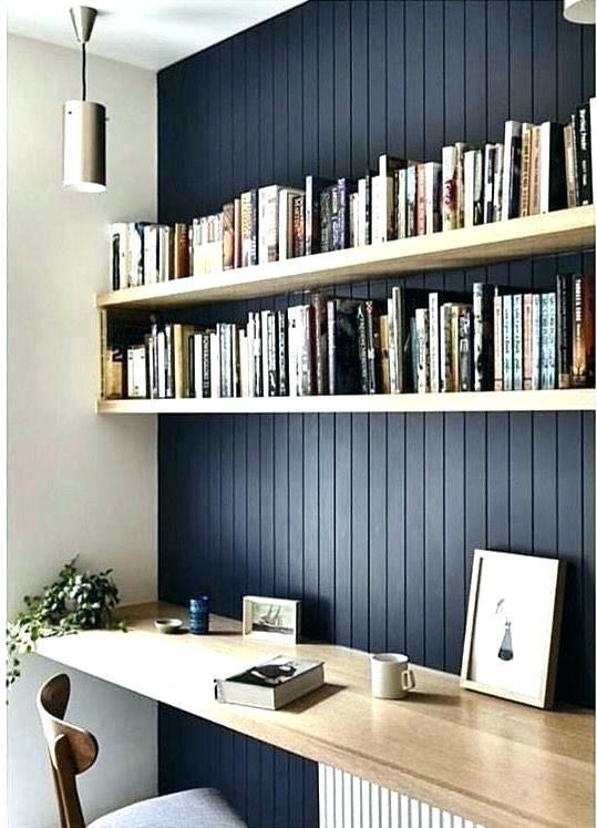 Ikea Wall Desk Unit Wall Desk Unit Shelves Above Ideas About Shelf Mounted Ikea In 2020 Shelf Decor Bedroom Office Wall Shelves Bookshelves In Bedroom