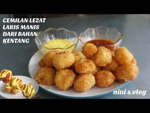 Resep Olahan Kentang Keju Super Enak Simple Kentang Pom Pom Potato Cheese Ball Youtube Kentang Cemilan Makanan Dan Minuman