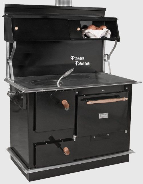 old wood cooking stoves | Pioneer Princess wood cook stove, Wood Cook stove