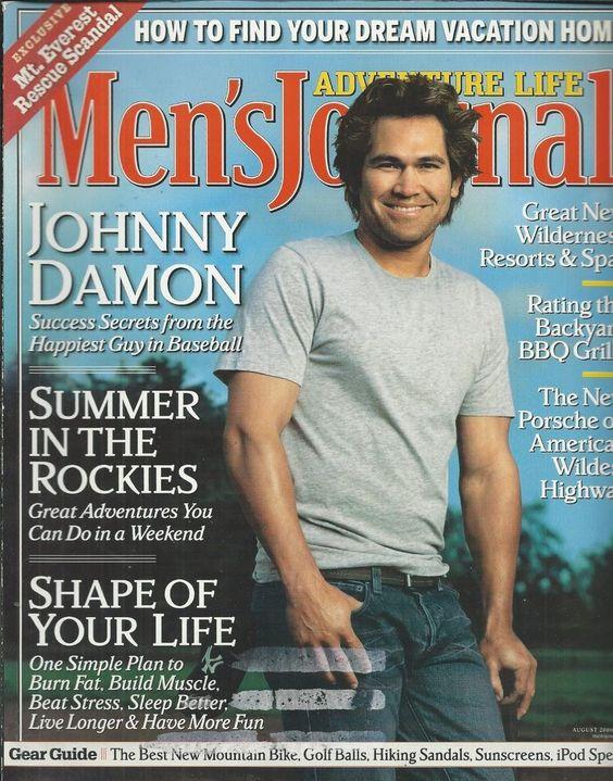 Mens Journal magazine Johnny Damon Rockies summer Wilderness resorts and spas