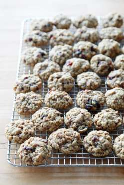Get the recipe: cranberry pecan oatmeal cookies. - POPSUGAR Photography / Nicole Perry