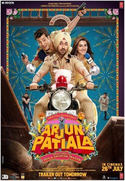 Kriti Sanon Diljit Dosanjh Starrer Arjun Patiala Motion Poster Hindi Movies Download Movies Full Movies Download