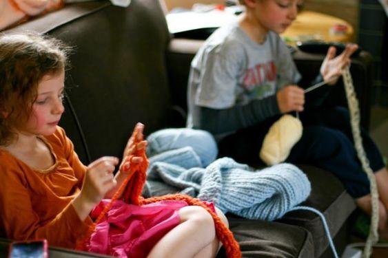 Finger Knitting How-to
