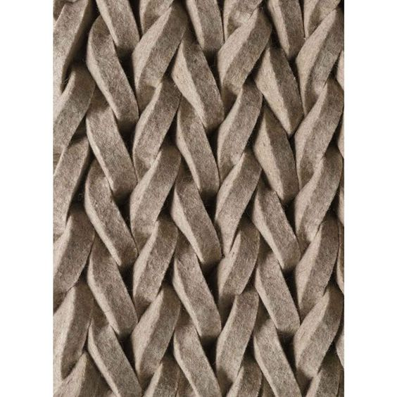 tapis de salon tresse highland en laine par angelo tapis shaggy a poils long. Black Bedroom Furniture Sets. Home Design Ideas