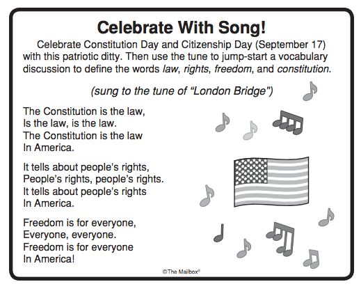 Constitution Day/Citizenship Day is celebrated each year on September 17. Use…