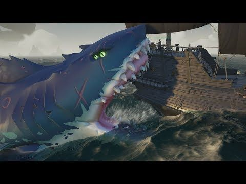Youtube Sea Of Thieves Megalodon Sea