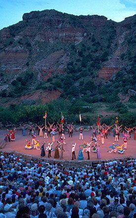 Texas Outdoor Musical - Palo Duro Canyon