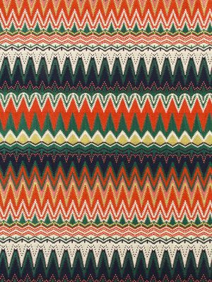 Orange Navy Upholstery Fabric -  Modern Orange Fabric by the Yard - Contemporary Fabric Online