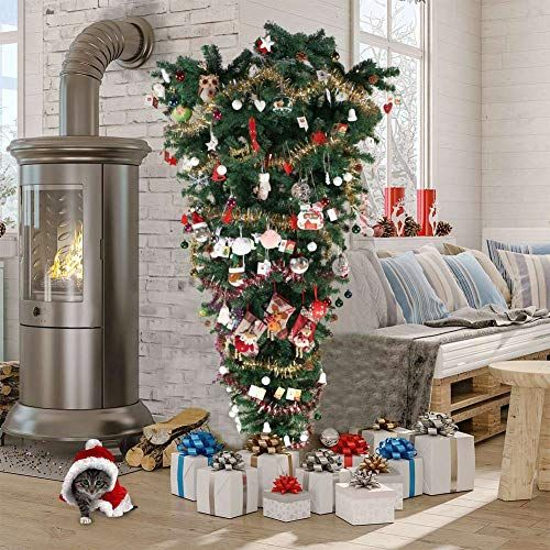 7ft 210cm Deluxe Artificial Christmas Tree with 3 Different Tips Xmas Decoration