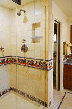 Spanish Revival Restoration - mediterranean - bathroom - los angeles - Cynthia Bennett & Associates