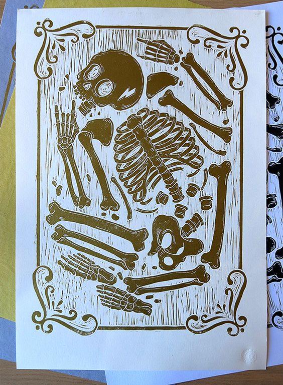 Rocker Skeleton on Behance