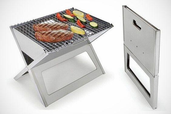 Fold Flat Grill: Genius.