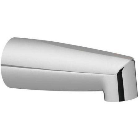 Moen 3829P 7 inch Tub Spout with 1/2 inch Slip Connection, Available in Various Colors, Silver