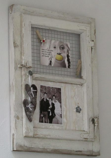 altes Fenster - so shabby