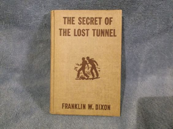 Hardy Boys The Secret Of The Lost Tunnel  Franklin W. Dixon, 1950 Hardback