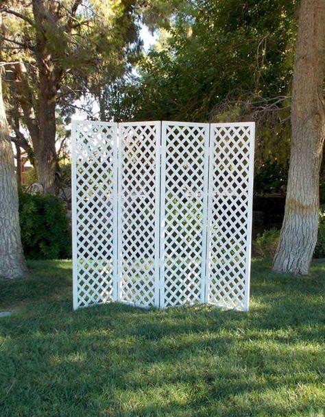 lattice folding screens diy lattice