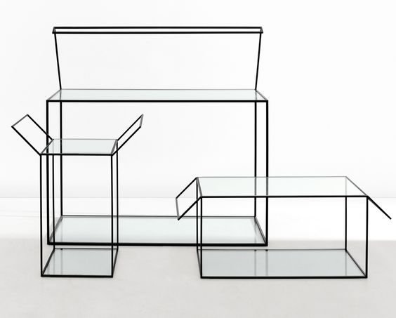 glass boxes furnitures