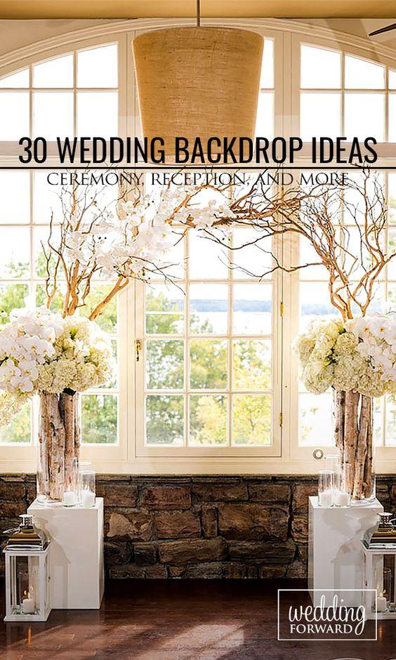 Backdrop Ideas Wedding Backdrops And Backdrops On Pinterest