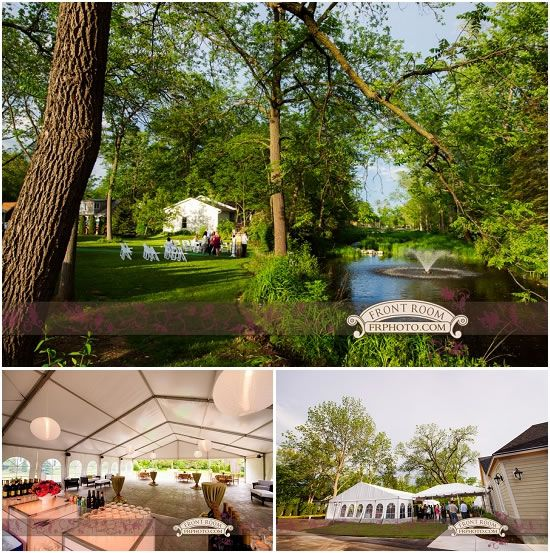 Milwaukee Schlitz Audubon Nature Center Wedding Photography Front Room Outdoor Ceremony Pinterest