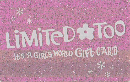 Limited Too Gift Card | #90s | '90s nostalgia. | Pinterest | 90s ...
