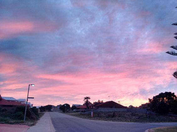 Sunrise, Mandurah WA #colorsplash #contest
