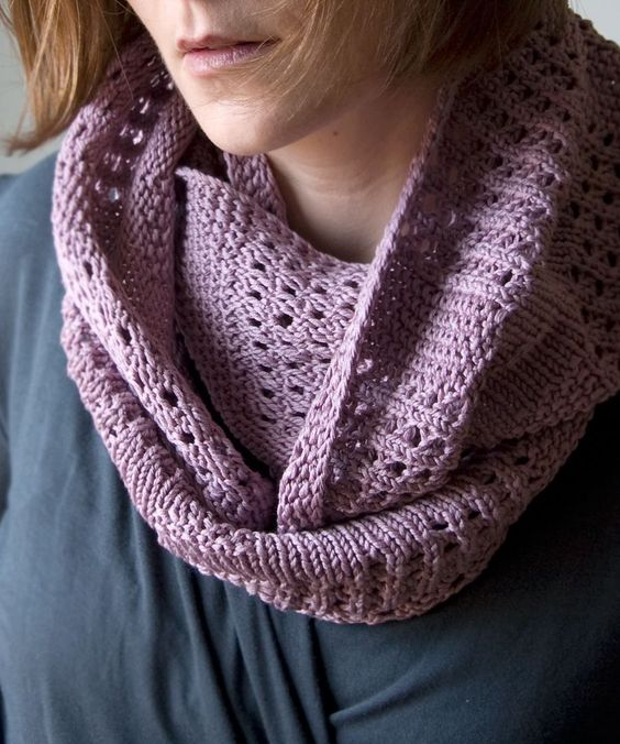 Aran Infinity Scarf Knitting Pattern : Cowl patterns, Cowl scarf and Yarns on Pinterest