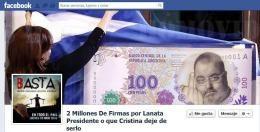En Facebook juntan firmas para que Lanata sea presidente
