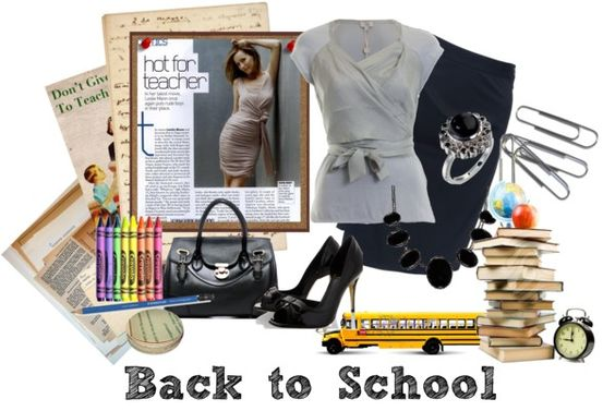 """Back to School Look for Teachers #9"" by missteacherlady on Polyvore"