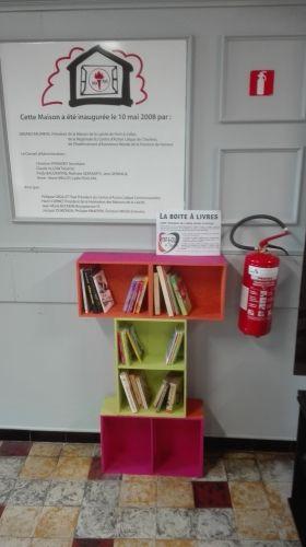 Boîte à livres Pont-à-Celles