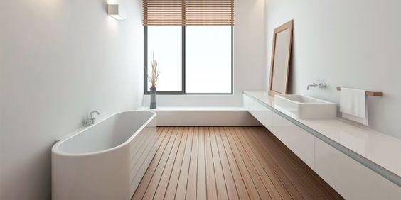 Bei LivingInteriors liegt der Fokus auf Bad, Boden, Wand und Licht.