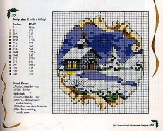 (2) Gallery.ru / Фото #25 - схема на 1 лист - irinika: