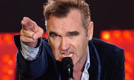 Morrissey's missing memoir due out in 'weeks' says fansite